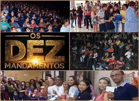 Público lota salas de cinema<br />para ver o longa em todo o País