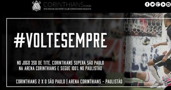 Corinthians começa a brincadeira e internautas pegam no pé de ...