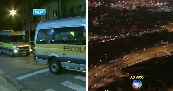Motoristas de transportes escolares fazem manifestação - Notícias ...