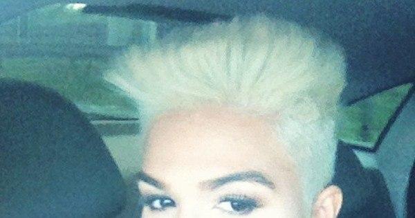 """MC Sabrina radicaliza e aparece de cabelos curtinhos: """"Favorece ..."""
