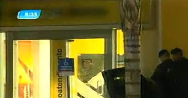 PM procura suspeito de explodir caixa eletrônico em Santa Luzia (MG)
