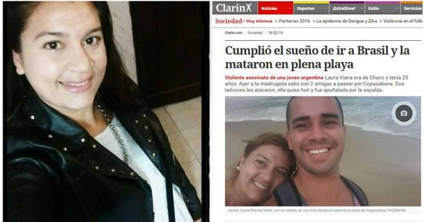 Argentina morta em Copacabana sonhava com férias no Rio, diz ...