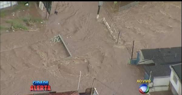 Chuva deixa parte de SP em atenção para enchentes - Notícias - R7 ...