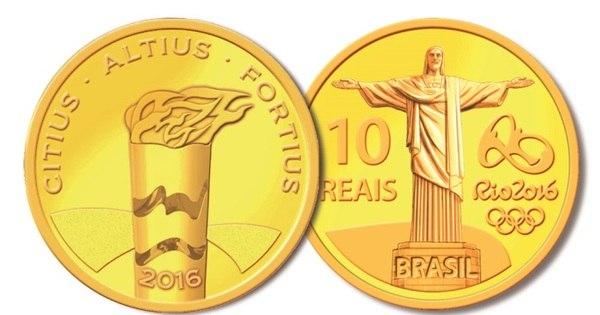 Conheça as novas moedas comemorativas dos Jogos Olímpicos ...