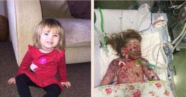 Destaque da semana: pais exibem foto chocante de filha morta para ...