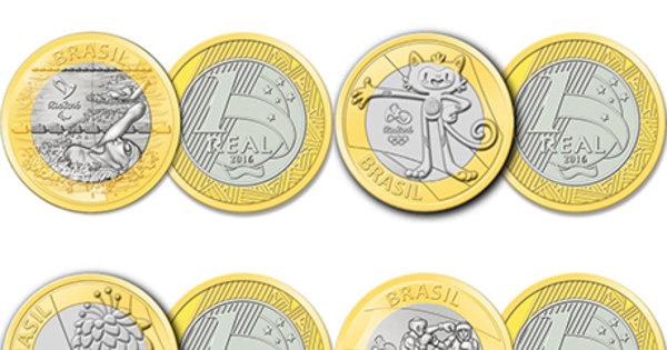 Moedas comemorativas de R$ 1 das Olimpíadas são vendidas por ...