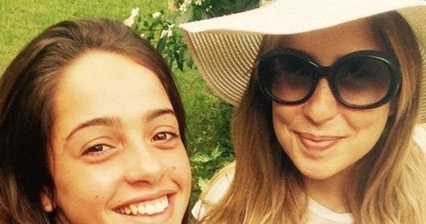 Feliz da vida, Paloma Duarte mostra barrigão de grávida ao lado da ...