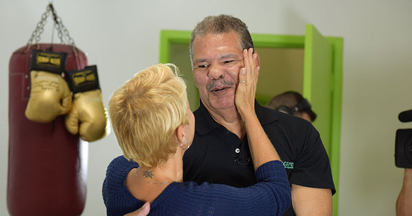 Xuxa entrevista o lutador Maguila e estreia novo quadro ...