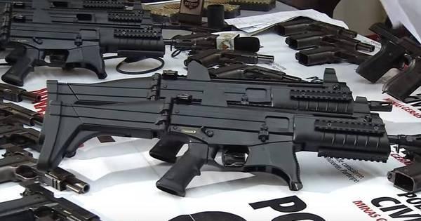 Por dia, polícia tira 62 armas das mãos de criminosos em Minas ...