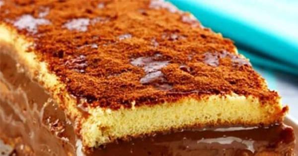 Aprenda a fazer em casa uma torta de caramelo com chocolate ...