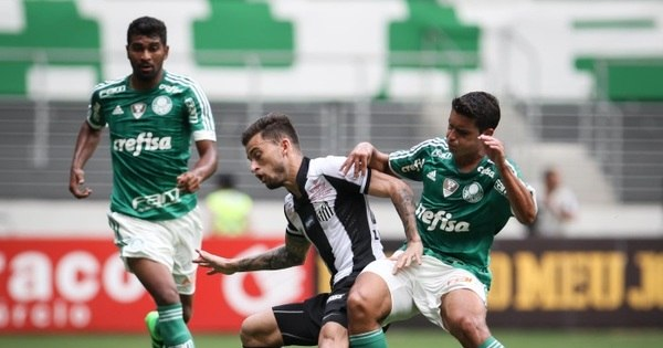 Depois de vexame do Corinthians, Santos e Palmeiras duelam para ...
