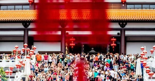 Público celebra ano novo chinês na Grande SP - Fotos - R7 São ...