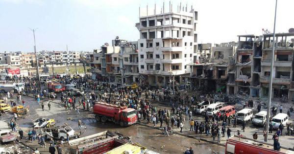Número de mortos em ataques terroristas na Síria passa de cem ...