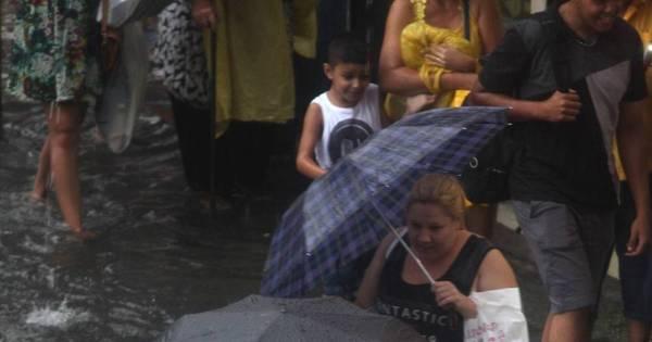 Chuva deixa toda a capital em estado de atenção para enchentes ...