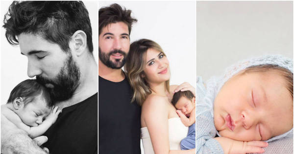 Veja fotos do ensaio de Noah, filho de Sandro Pedroso e Jéssica ...