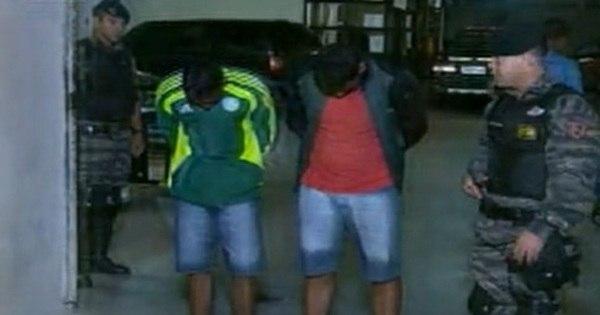 Dupla é presa com arma roubada de delegado em Belo Horizonte ...