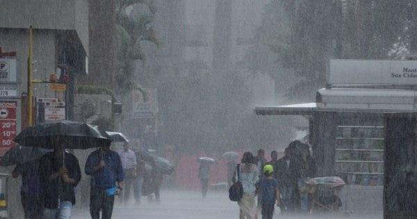 Chuva coloca toda a capital paulista em estado de atenção ...
