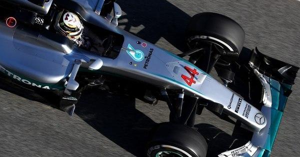 Mercedes se sente ameaçada nos testes da Fórmula 1 - Esportes ...