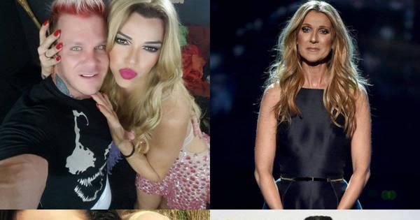 De Léo Áquilla a Céline Dion! Relembre famosos que já ...