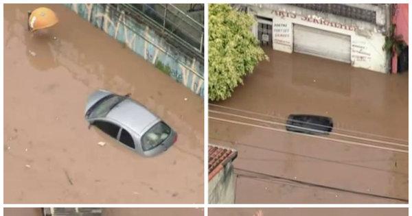 Chuva faz córregos transbordarem e alaga São Paulo - Fotos - R7 ...