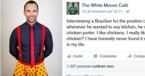 Alvo de piada por erro de inglês, brasileiro é contratado por café na ...