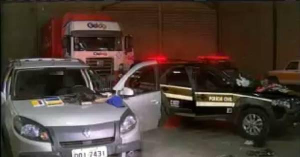 Polícia descobre galpão que guardava caminhões roubados na ...