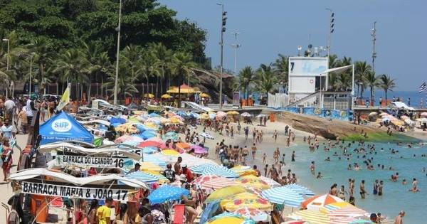 Rio registra maior temperatura e sensação térmica de 2016 - Fotos ...