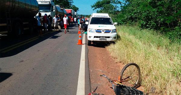Ciclista tem cabeça decepada e homem tem perna esmagada em ...
