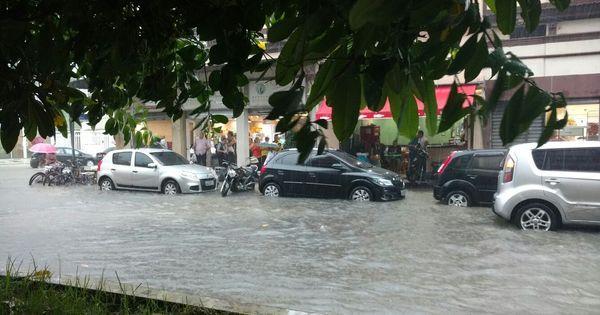 Chuva forte deixa o Rio em estado de atenção - Notícias - R7 Rio de ...