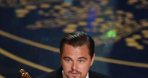 É campeão! Leonardo DiCaprio vence o Oscar de Melhor Ator por O ...