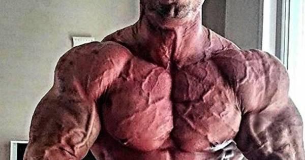"""Corpo de homem com montanha de músculos choca a web: """"Esse ..."""