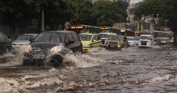 Chuva deixa Rio em atenção, alaga bairros em todas as regiões e ...