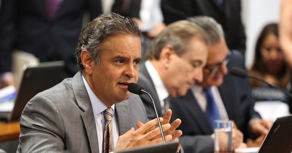Aécio Neves lidera corrida à Presidência, aponta Instituto Paraná ...