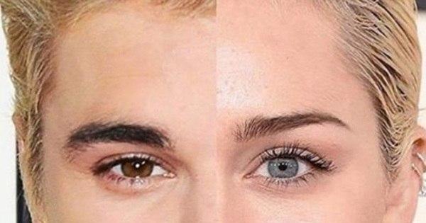 Gêmeos? Miley Cyrus usa montagem com Justin Bieber para dar ...