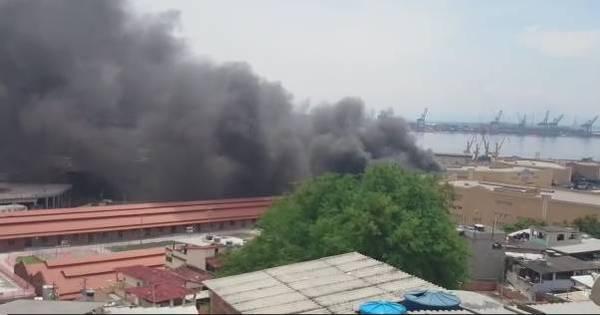 Rio: incêndio atinge barracão na Cidade do Samba - Notícias - R7 ...