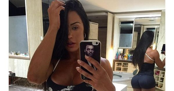 "Gracyanne Barbosa conta que usa cinta para afinar a cintura: "" Já se ..."