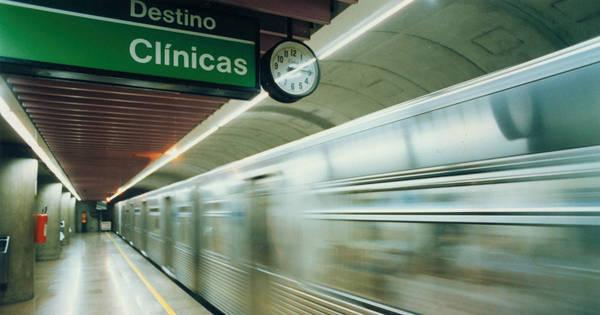 Linha verde e azul do Metrô operam com velocidade reduzida ...