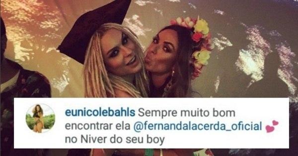 Nicole Bahls apaga gafe com Latino e Mendigata - Entretenimento ...