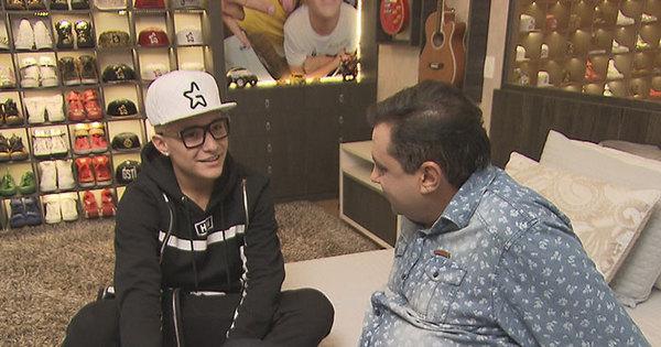 MC Gui mostra seu novo apartamento de luxo e Geraldo Luís ...