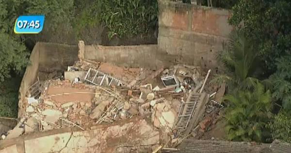 Duas pessoas morrem após desabamento de casa na zona norte ...