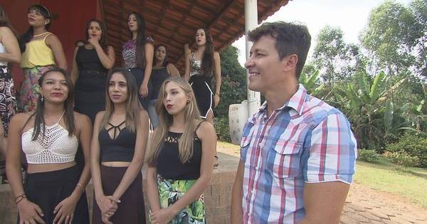 Rodrigo Faro visita a terra das mulheres solteiras e tenta ...