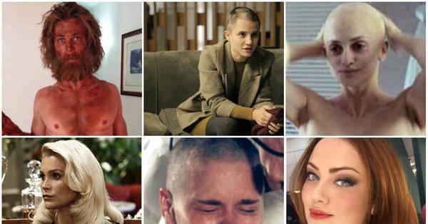 Coragem! Veja as celebridades que mudaram radicalmente o visual ...