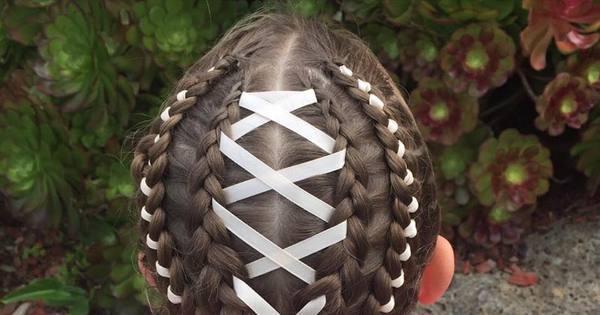 Mãe faz penteados impressionantes para filha ir à escola - Fotos ...