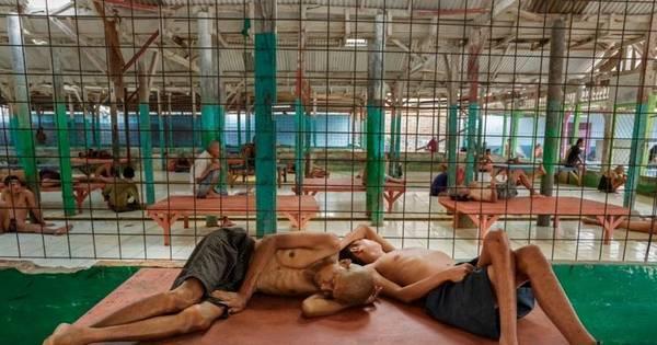Imagens chocantes de pacientes sofrendo maus-tratos em ...