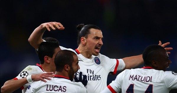 PSG repete 2 a 1 no Chelsea e vai às quartas de final da Liga dos ...