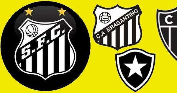 Isso é sério? Santos, Botafogo, Bragantino e Galo criam liga só pra ...