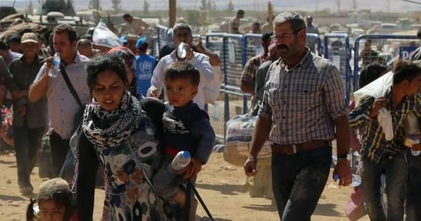 Cinco anos de Guerra Síria: crianças e mulheres representam ...