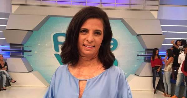 Rodrigo Faro conta a história de mulher que sobreviveu após ter 85 ...