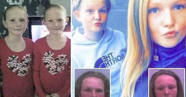 Anjos rebeldes! Gêmeas de 14 anos são julgadas por centenas de ...