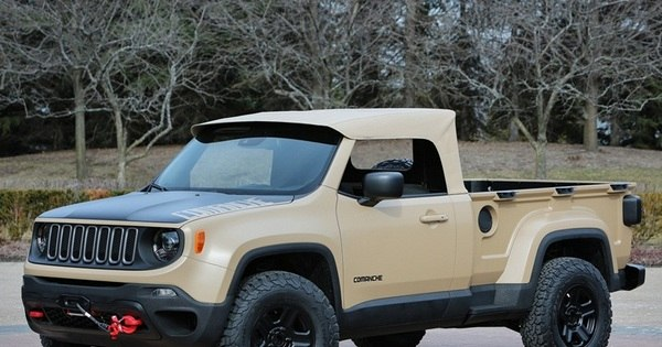 Jeep mostra picape-conceito do SUV Renegade - Fotos - R7 Carros
